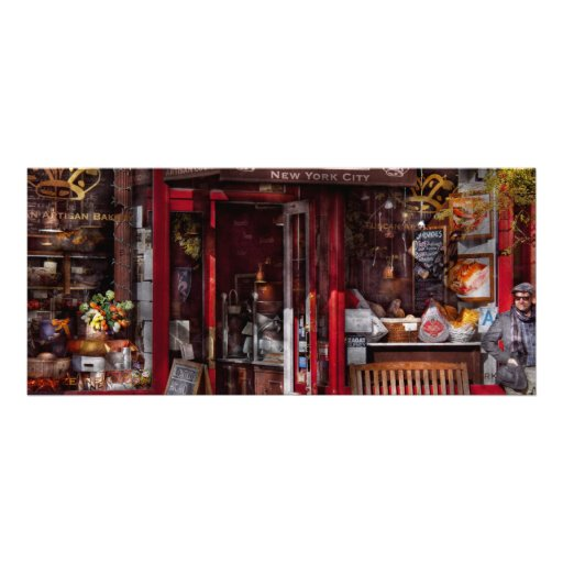 New York - Store - Greenwich Village - Il Cantucci Rack Cards