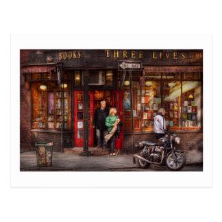 New York - Store - Greenwich Village - Three Lives Postcards