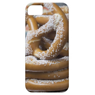 New York street vendor's huge pretzels for sale Barely There iPhone 5 Case