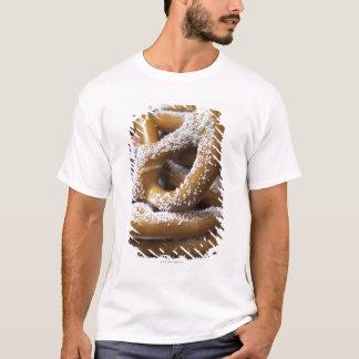 New York street vendor's huge pretzels for sale T-Shirt