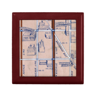 NEW YORK SUBWAY MAP, 1940 2 GIFT BOX