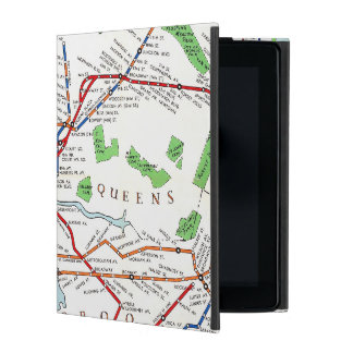 New York: Subway Map, 1940 iPad Case