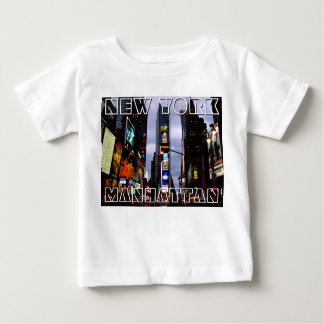 New York T-shirt Baby's Custom NY Souvenir Shirt