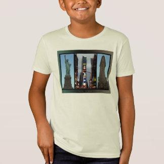 New York T-Shirt Kid's NYC Souvenirs Organic Shirt
