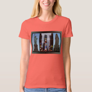 New York T-Shirt Women's New York Organic Shirt
