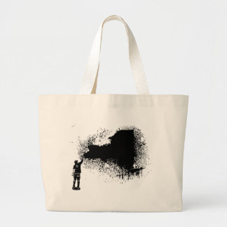 New York Tagger Tote Bags