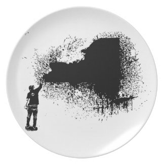 New York Tagger Plate