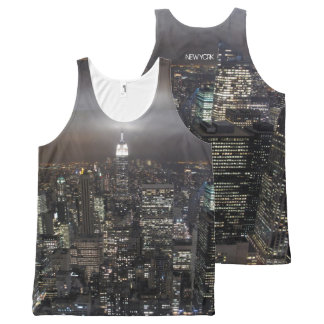 New York Tank Top Empire State NYC Art Shirts