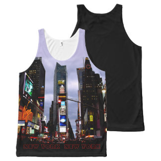 New York Tank Top Times Square NYC Shirt Custom