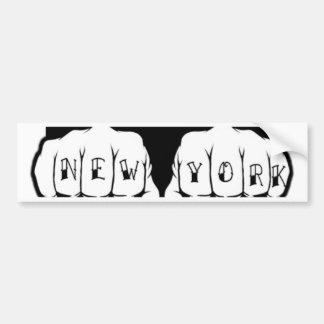 New York Tattoo Bumper Stickers