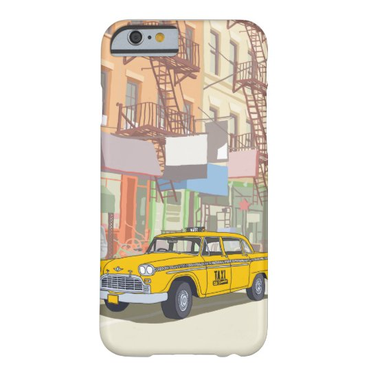 New York Taxi Barely There iPhone 6 Case