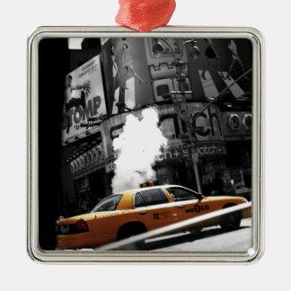 New York Taxi Christmas Ornament