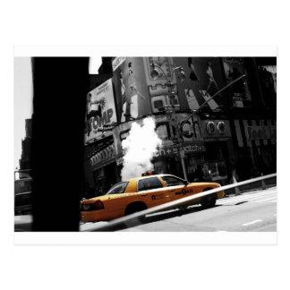 New York Taxi Postcard