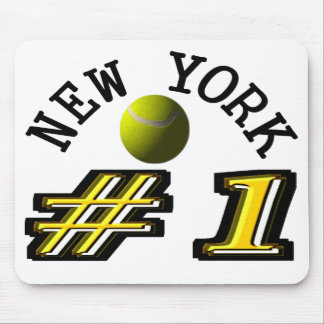 New York Tennis is Number 1 Mouse Pad