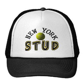 New York Tennis Stud Cap