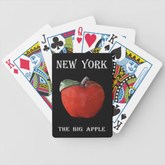 New York The Big Apple Bicycle Playing Cards