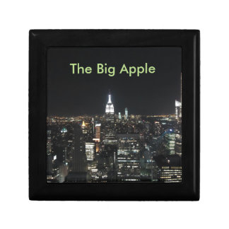 New York The Big Apple Manhattan at Night Gift Gift Box