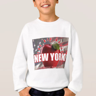 New York The Red Apple - 9/11 Forever Remembered! Sweatshirt