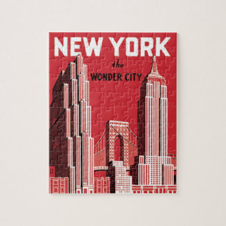 New York The to wonder City Jigsaw Puzzle