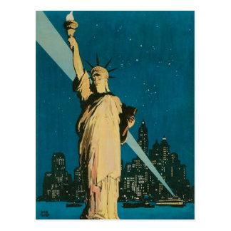 New York: The Wonder City of the World Poster Postcard