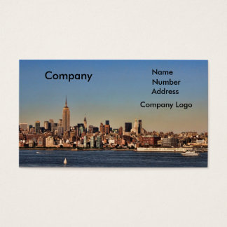 New York Themed Business Cards