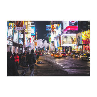 New York Time Square Canvas Print