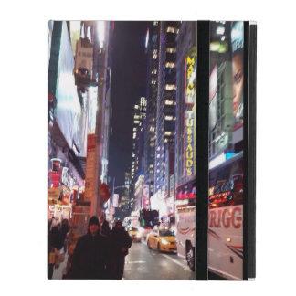 New York Time Square Manhatten iPad Folio Case