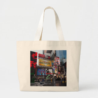 New York Times Square Billboards Tote Bag