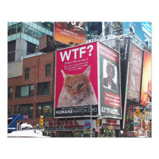 New York Times Square Billboards Flyers