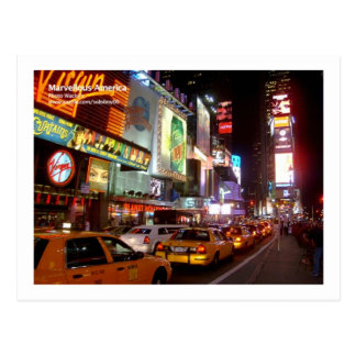New York Times Square Postcard