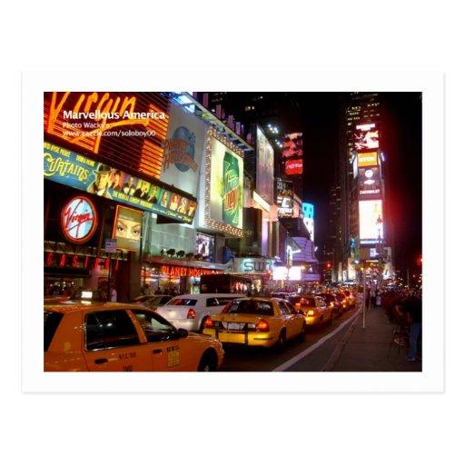 New York Times Square Postcard