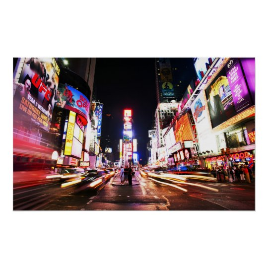 New York Times Square - Poster