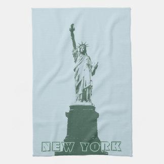 New York Towel Statue of Liberty NYC Tea Towel