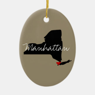 New York Town Christmas Ornament
