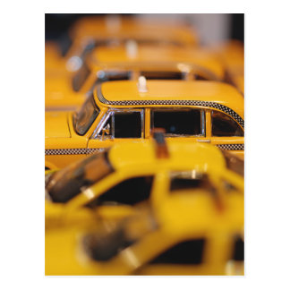 New York Toy Taxis Postcard