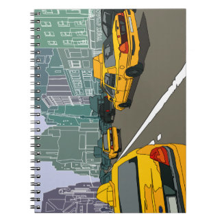 New York traffic Photo Notebook (80 Pages B&W)