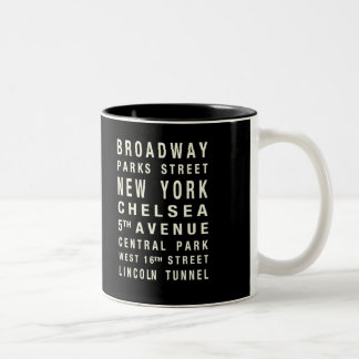 NEW YORK TRAIN MUG