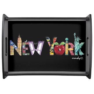 New York tray