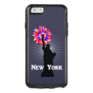 New York USA American Patriotic Statue Of Liberty OtterBox iPhone 6/6s Case