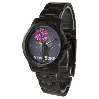 New York USA American Patriotic Statue Of Liberty Wristwatch