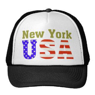 New York USA! Mesh Hat