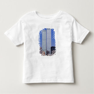 New York, USA. Twin towers of the famous World Toddler T-Shirt