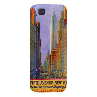 New York USA Vintage Travel cases