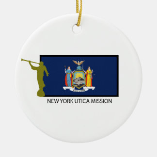 NEW YORK UTICA MISSION LDS CTR CHRISTMAS ORNAMENT