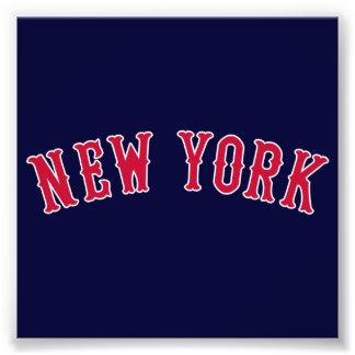 New York Versus Boston Rivals Photo Art