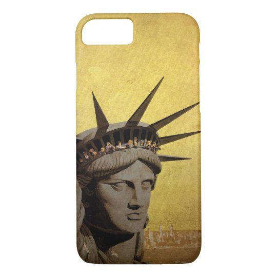 New York - vintage style design iphone 7