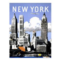 New York  Vintage Travel Postcard at Zazzle
