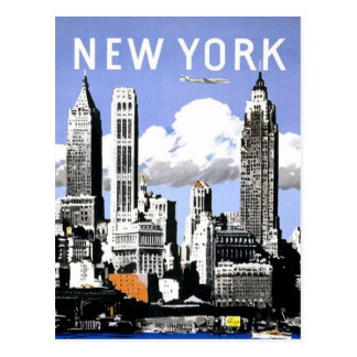 New York  Vintage Travel Postcard