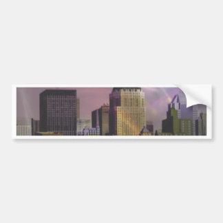 New York violet dream Bumper Sticker
