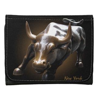 New York Wallet Custom NY Bull Souvenir Wallet